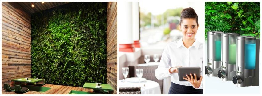 zöld étterem