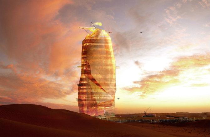 Város a Szahara közepén: zseniális vagy teljesen megőrültünk?